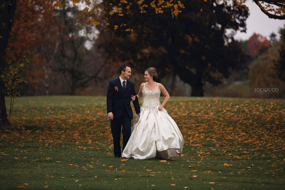 Fall Wedding at the Royal Ottawa Golf Course by Joey Rudd Photography