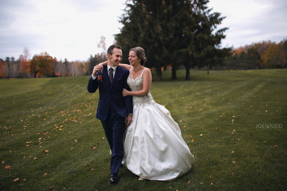 Fall Wedding at the Royal Ottawa Golf Course by Joey Rudd Photography  Lifestyle