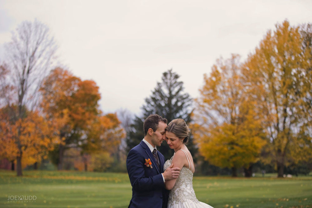 Fall Wedding at the Royal Ottawa Golf Course by Joey Rudd Photography  Autumn