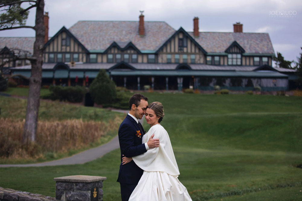 Fall Wedding at the Royal Ottawa Golf Course by Joey Rudd Photography  Venue