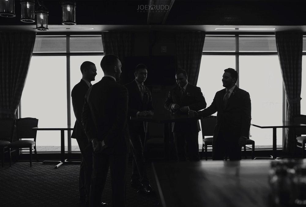 Winter Wedding in Ottawa at Greyhawk Golf Club by Ottawa Wedding Photographer Joey Rudd Photography Candid Moment