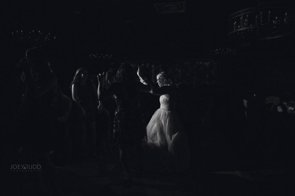 Winter Wedding in Ottawa at Greyhawk Golf Club by Ottawa Wedding Photographer Joey Rudd Photography Candid Reception Dancing at Night