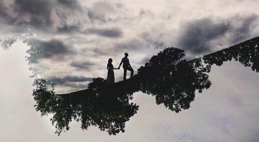 Elopement Wedding Officiant, Elopement Wedding Photographer, Ottawa Wedding Photographer, Ottawa Wedding Photography, Arboretum, Double Exposure
