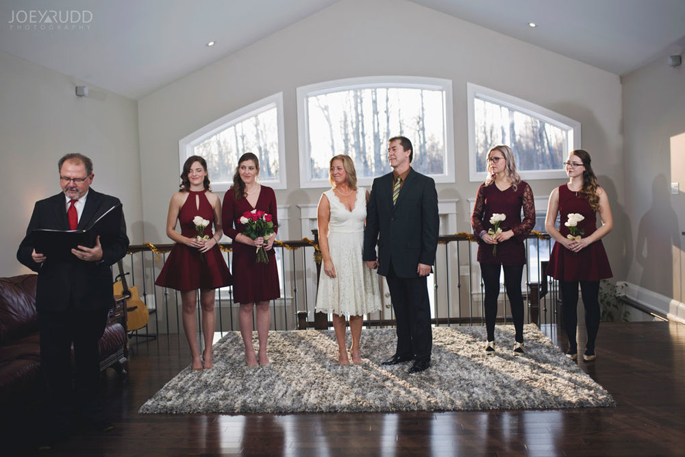Elopement Wedding Officiant, Elopement Wedding Photographer, Ottawa Wedding Photographer, Ottawa Wedding Photography, Home Ceremony