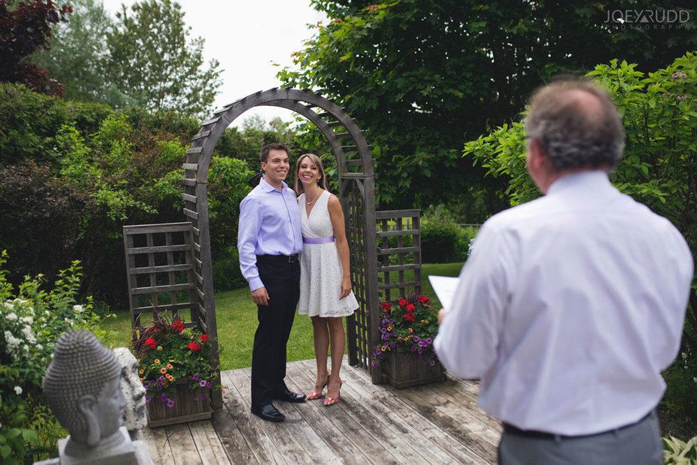 Elopement Wedding Officiant, Elopement Wedding Photographer, Ottawa Wedding Photographer, Ottawa Wedding Photography, Backyard Wedding Elopement