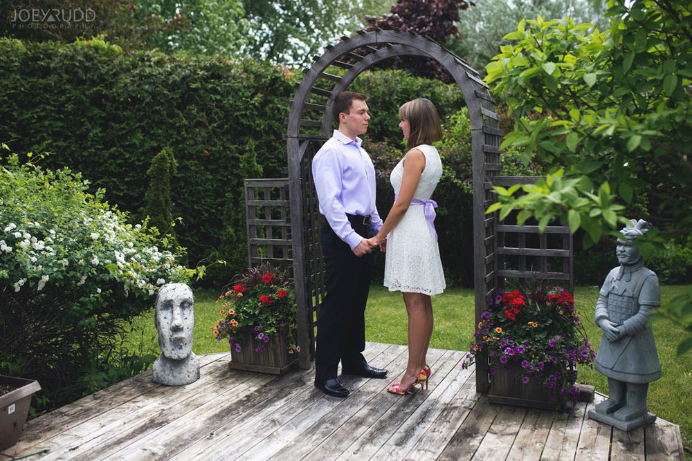 Elopement Wedding Officiant, Elopement Wedding Photographer, Ottawa Wedding Photographer, Ottawa Wedding Photography, Backyard Wedding Ceremony