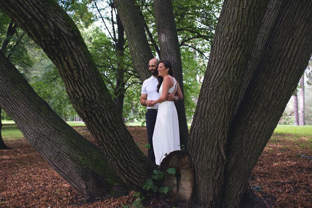 Elopement Wedding Officiant, Elopement Wedding Photographer, Ottawa Wedding Photographer, Ottawa Wedding Photography, Private Wedding Ceremony in a Park, Arboretum, Get married in a tree