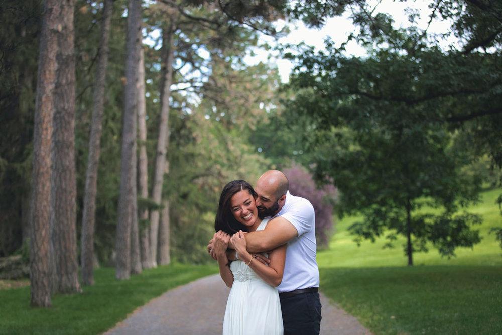 Elopement Wedding Officiant, Elopement Wedding Photographer, Ottawa Wedding Photographer, Ottawa Wedding Photography, Private Wedding Ceremony in a Park, Arboretum, happy