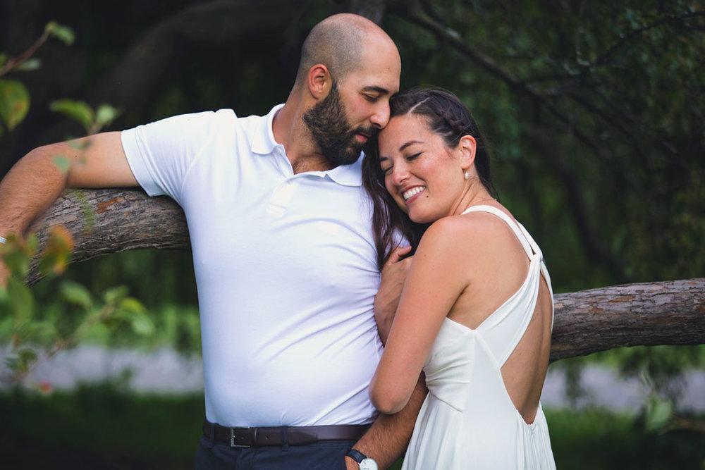 Elopement Wedding Officiant, Elopement Wedding Photographer, Ottawa Wedding Photographer, Ottawa Wedding Photography, Private Wedding Ceremony in a Park, Arboretum, Trees