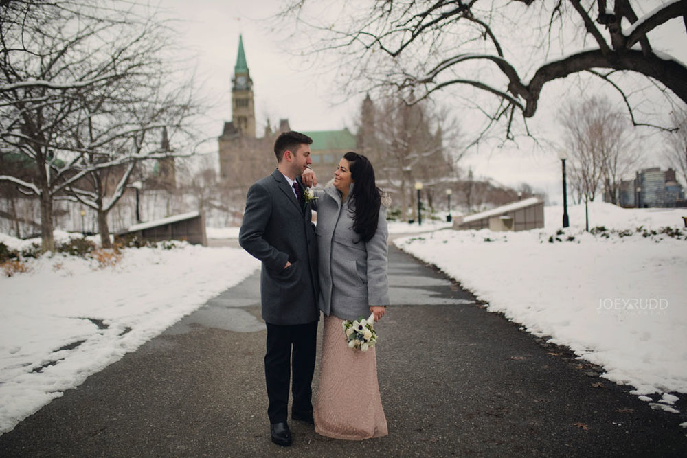 Elopement, Ottawa, Wedding Photographer, Elopement Photographer, Joey Rudd Photography, Downtown Ottawa, Chateau Laurier, Parliament