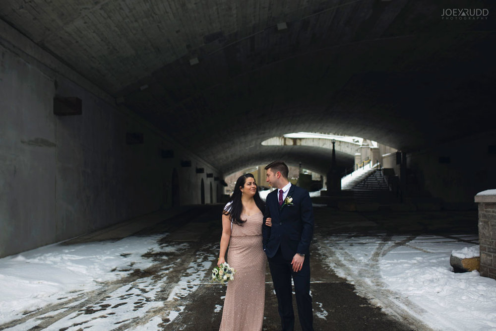 Elopement, Ottawa, Wedding Photographer, Elopement Photographer, Joey Rudd Photography, Downtown Ottawa, Chateau Laurier, Tunnel
