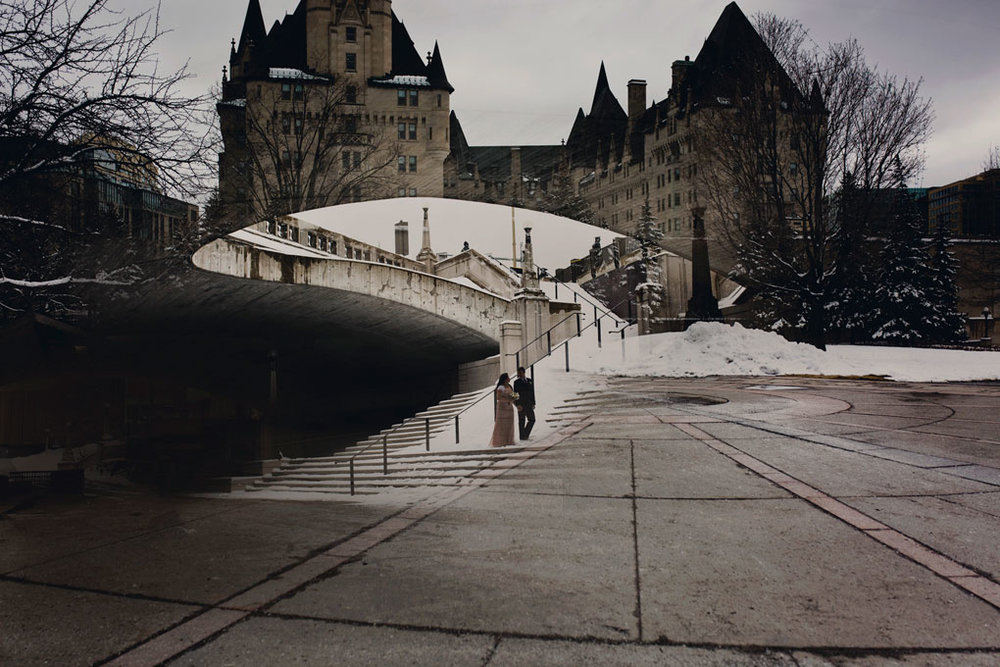 Ottawa, Elopement, Wedding, Wedding Photographer, Joey Rudd Photography, Double Exposure