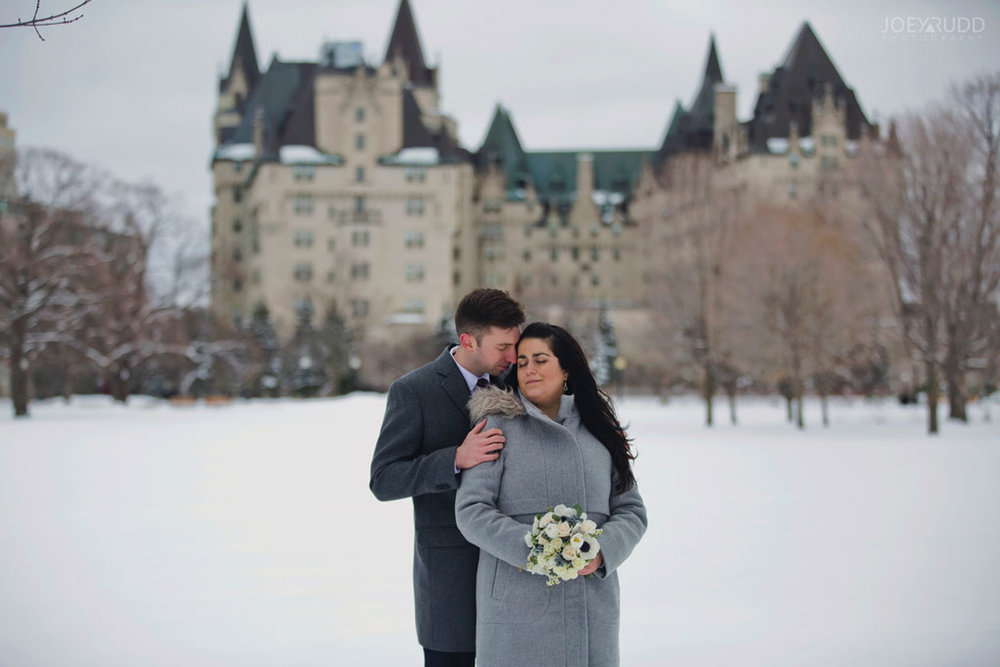 Ottawa, Elopement, Wedding, Wedding Photographer, Joey Rudd Photography, Chateau Laurier