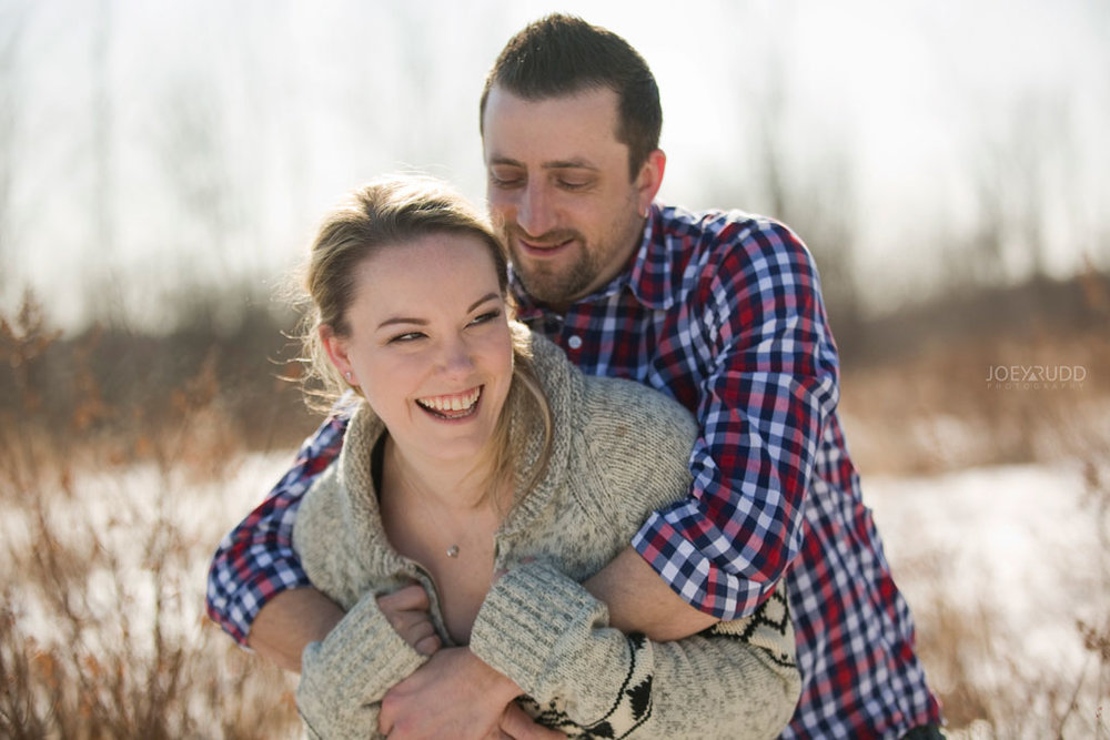 Mer Bleue Engagement, Ottawa Engagement, Engagement Photos, Engagement Photographer, Ottawa Wedding Photographer, Joey Rudd Photography, Ottawa Photographer, Winter Photos, Photo Location, Posing, Candid