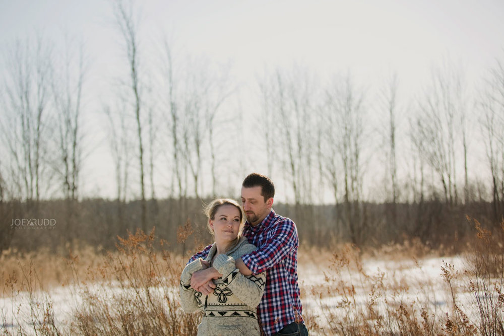 Mer Bleue Engagement, Ottawa Engagement, Engagement Photos, Engagement Photographer, Ottawa Wedding Photographer, Joey Rudd Photography, Ottawa Photographer, Winter Photos, Photo Location, Posing, Trees