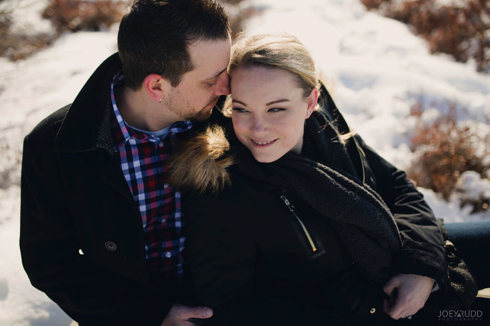 Mer Bleue Engagement, Ottawa Engagement, Engagement Photos, Engagement Photographer, Ottawa Wedding Photographer, Joey Rudd Photography, Ottawa Photographer, Winter Photos, Photo Location, Posing, Bog Trail