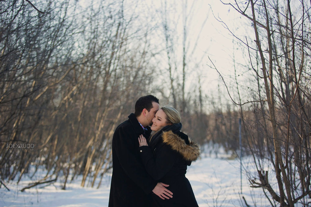 Mer Bleue Engagement, Ottawa Engagement, Engagement Photos, Engagement Photographer, Ottawa Wedding Photographer, Joey Rudd Photography, Ottawa Photographer, Winter Photos, Photo Location, Posing, Snow, Winter