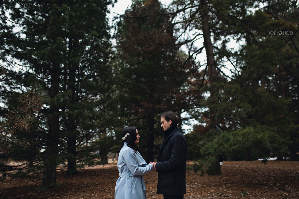 Elopement Wedding by Ottawa Wedding Photographer Joey Rudd Photography, Elopement, Elope, Wedding, Moody, Ceremony, Exceptional Ceremonies