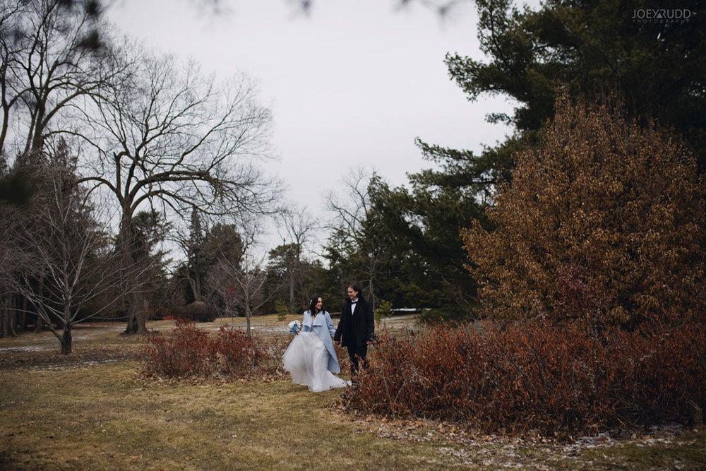 Elopement Wedding by Ottawa Wedding Photographer Joey Rudd Photography, Elopement, Elope, Wedding, Moody, Hike, Natural