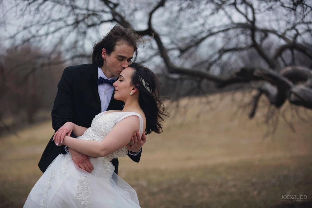 Elopement Wedding by Ottawa Wedding Photographer Joey Rudd Photography, Elopement, Elope, Wedding, Moody, Arboretum, Park