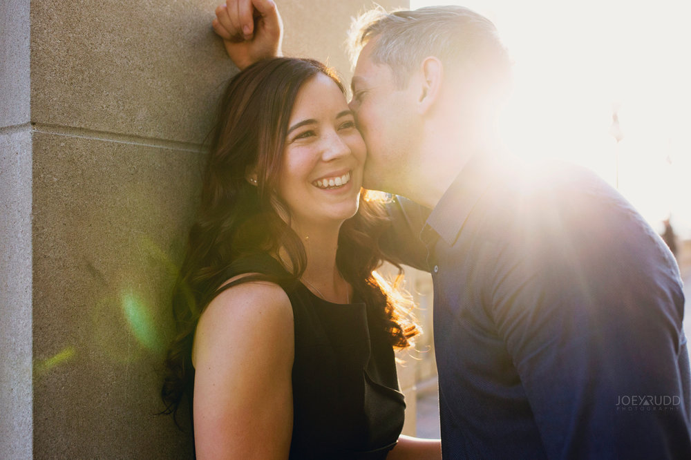 Engagement Photos, Ottawa Photographer, Ottawa Wedding, Ottawa Wedding photographer, downtown ottawa, chateau laurier, light leaks, fun, happy, enaged, photographer, joey rudd photography