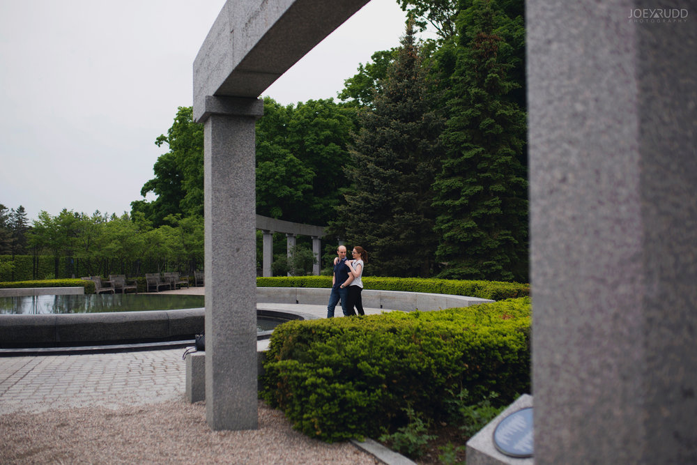 Rideau Hall Engagement, Joey Rudd Photography, Ottawa, Ottawa Engagement, Ottawa Engagement Photos, Fountain, Engaged Ottawa, Wedding Photographer, Wedding Photography, Rideau Park, Photo Locations Ottawa, Places for Photos in Ottawa, Garden
