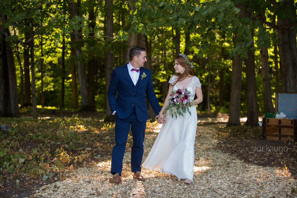 Farm Wedding, Ottawa Wedding, Ottawa Wedding Photographer, ottawa photography, ottawa wedding photography, joey rudd photography, ottawa photographer, wedding photos, wedding photo inspiration, rustic wedding, farm, natural photos, candid wedding photos, bride and groom, forest wedding