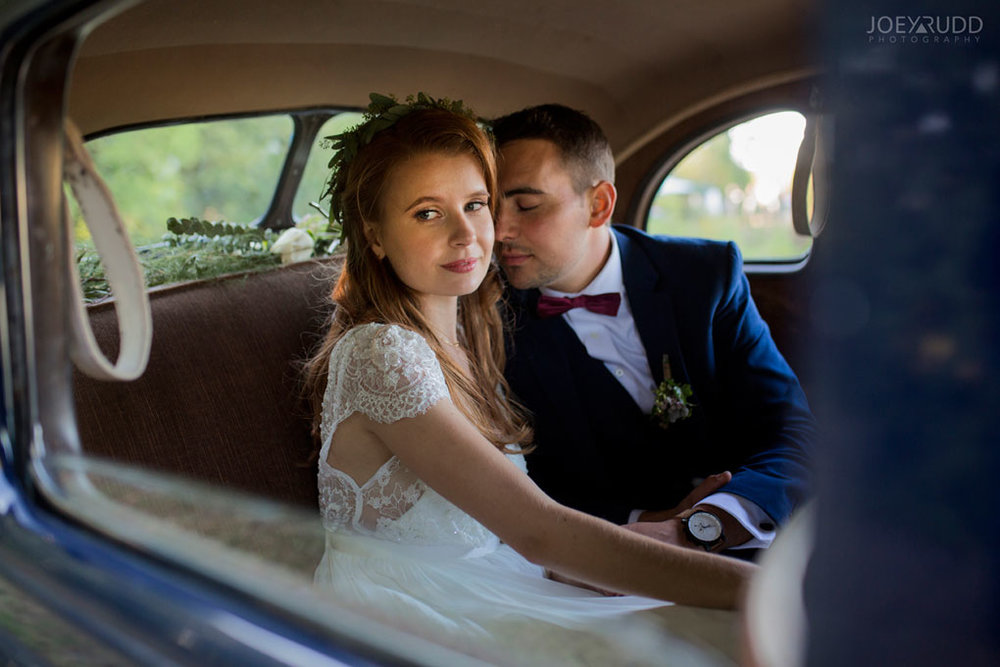 Farm Wedding, Ottawa Wedding, Ottawa Wedding Photographer, ottawa photography, ottawa wedding photography, joey rudd photography, ottawa photographer, wedding photos, wedding photo inspiration, rustic wedding, farm, natural photos, candid wedding photos, bride and groom, wedding photo in old car, classic car photo