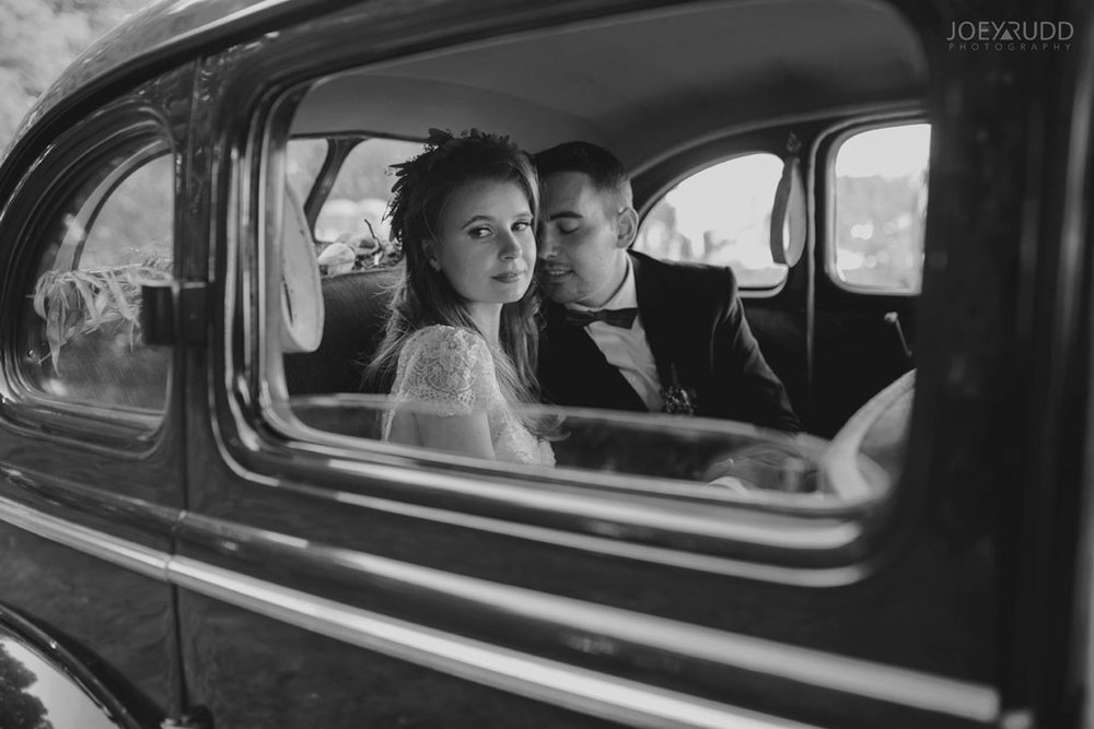 Farm Wedding, Ottawa Wedding, Ottawa Wedding Photographer, ottawa photography, ottawa wedding photography, joey rudd photography, ottawa photographer, wedding photos, wedding photo inspiration, rustic wedding, farm, natural photos, candid wedding photos, bride and groom, wedding photo in old car, black and white photograph