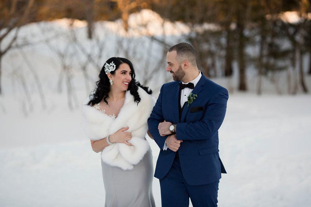 Winter wedding in Ottawa, ottawa wedding, ottawa wedding photographer, ottawa photographer, winter wedding photos, Gatineau Park