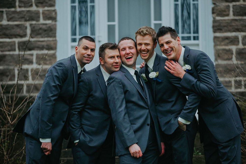 Stonefields Wedding by Ottawa Wedding Photographer Joey Rudd Photography Guys Fun