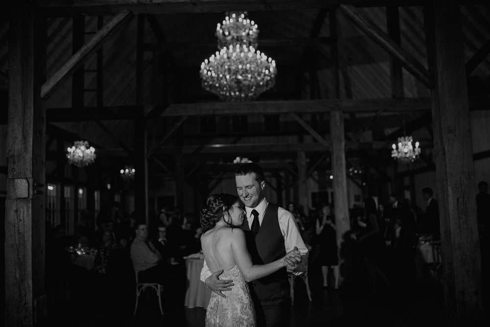 Stonefields Wedding by Ottawa Wedding Photographer Joey Rudd Photography First Dance Candid