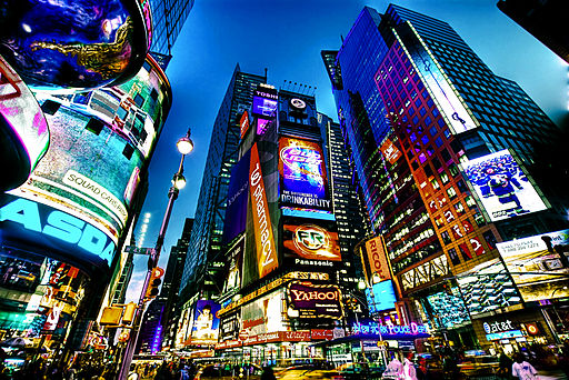 By Francisco Diez from New Jersey, USA (Times Square, NYC) [CC BY 2.0 (http://creativecommons.org/licenses/by/2.0)], via Wikimedia Commons
