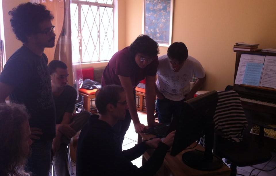 Reunião do dia 22, no Centro de Cultura Chinesa Tzong Kwan