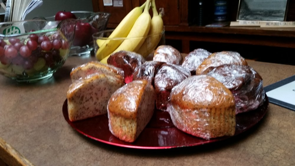 Complimentary Starter Breakfast. - Coffee, tea, fruit and muffins available every morning as part of your stay