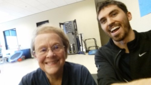 Nan has been one of CFP's greatest success stories. In 2013 she couldn't be on her knees without pain. Now she squats, lunges, crawls, pushes, and pulls with the best!