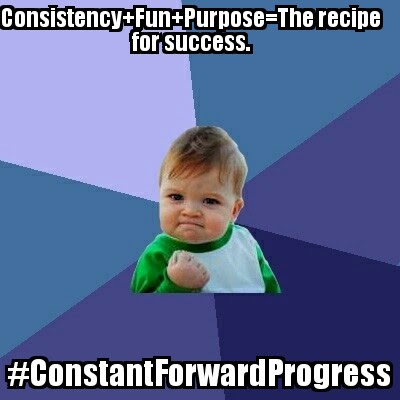 #ConstantForwardProgress