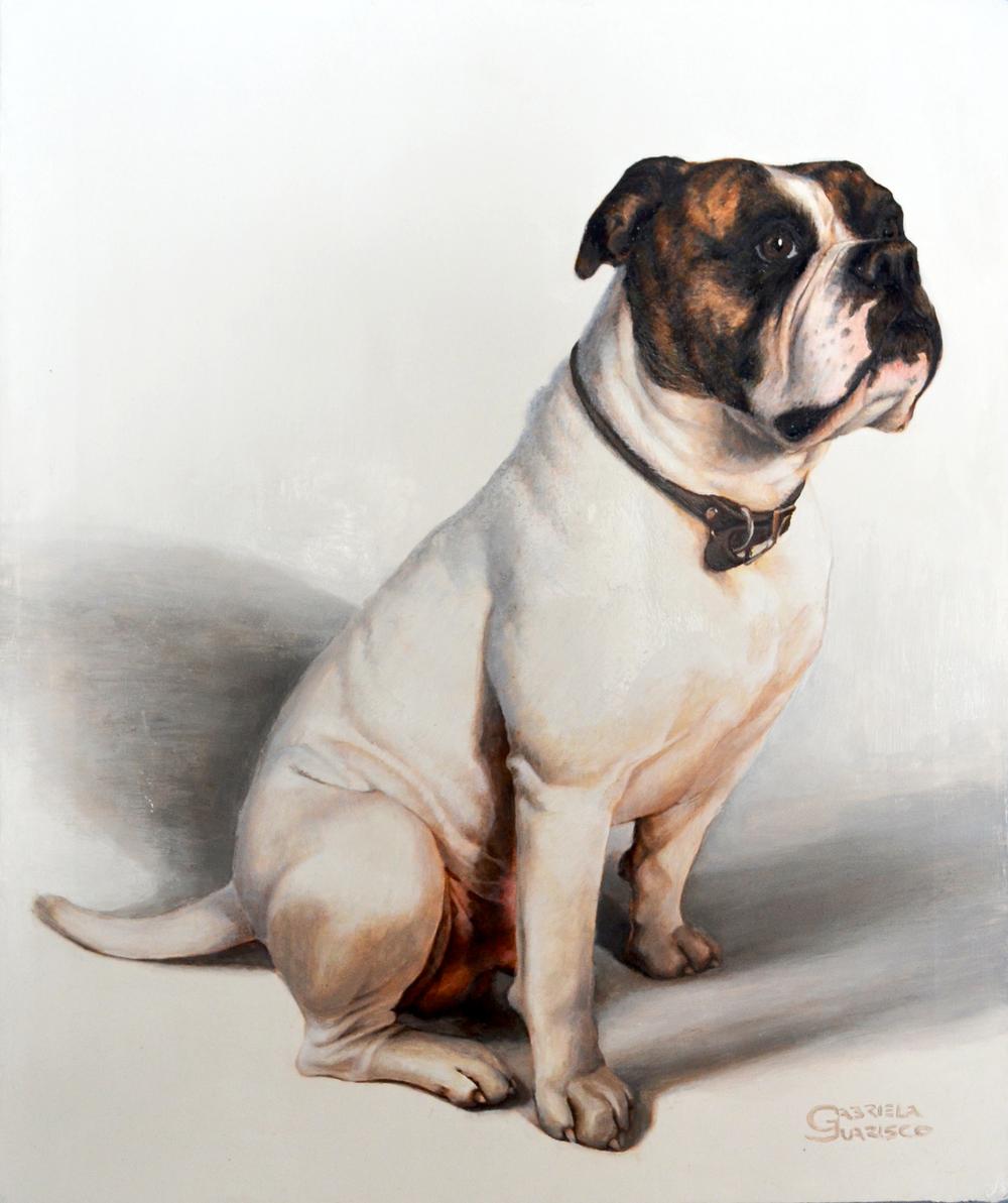 "Portrait of Mason, 24""x36"" Oil Painting"