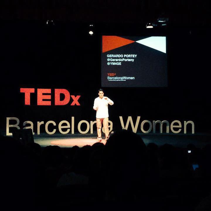 Gerardo Portney at TEDX Barcelona Women, Summer 2015
