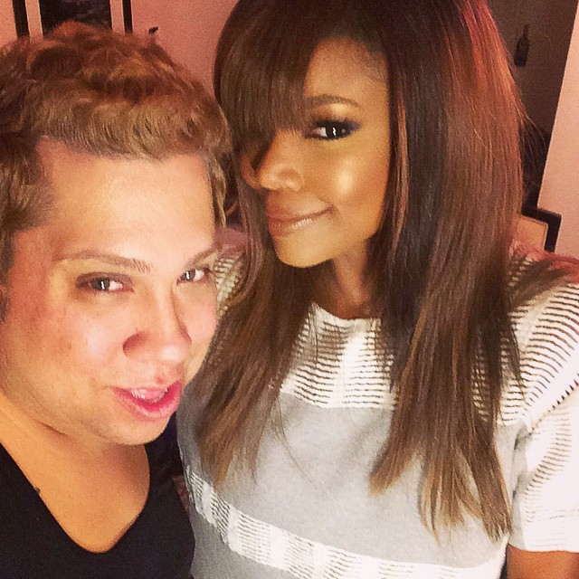 Renny Vasquez with Gabrielle Union. Photo source: Instagram