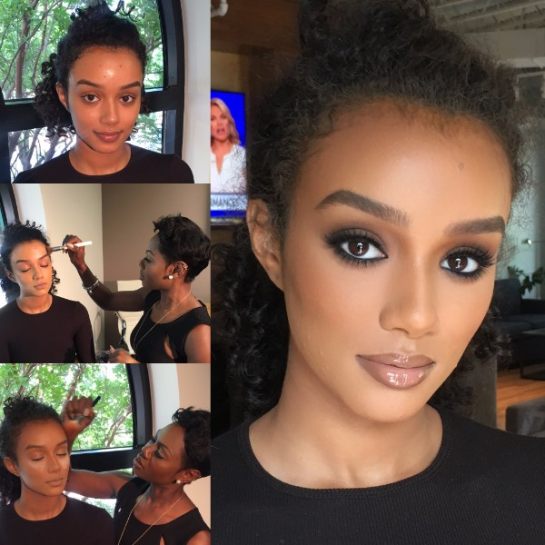 The Results From Makeup Artist Salma Smith's VIP Lesson With Me.