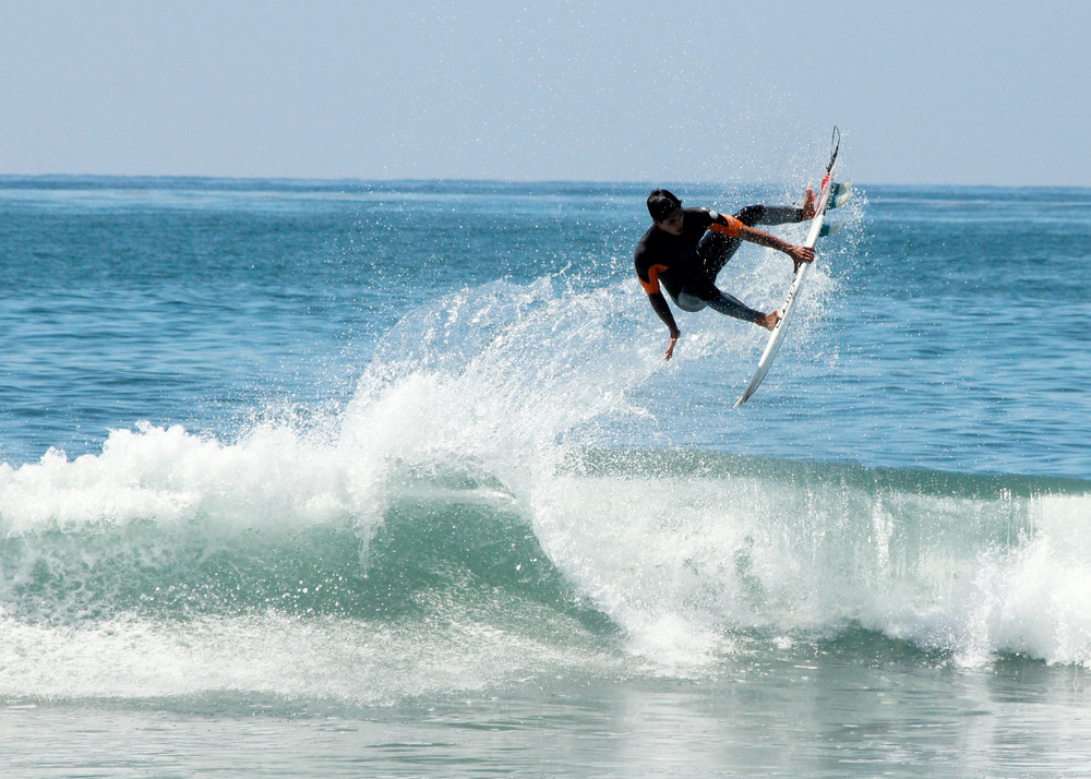 Gabriel Medina, so much air. I guess that's why his ranked number 1.