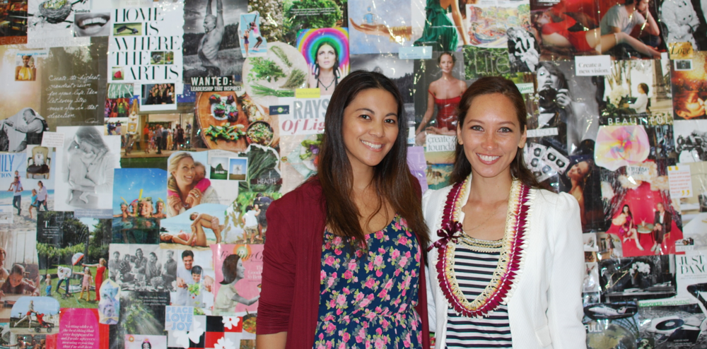 Life Coach,   Britt Yap   and Dream Coach, Tiare Thomas  Photo by Nicole Kato