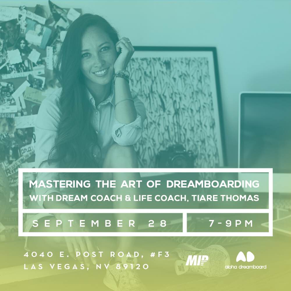 Mastering The Art of Dreamboarding Seminar in Las Vegas