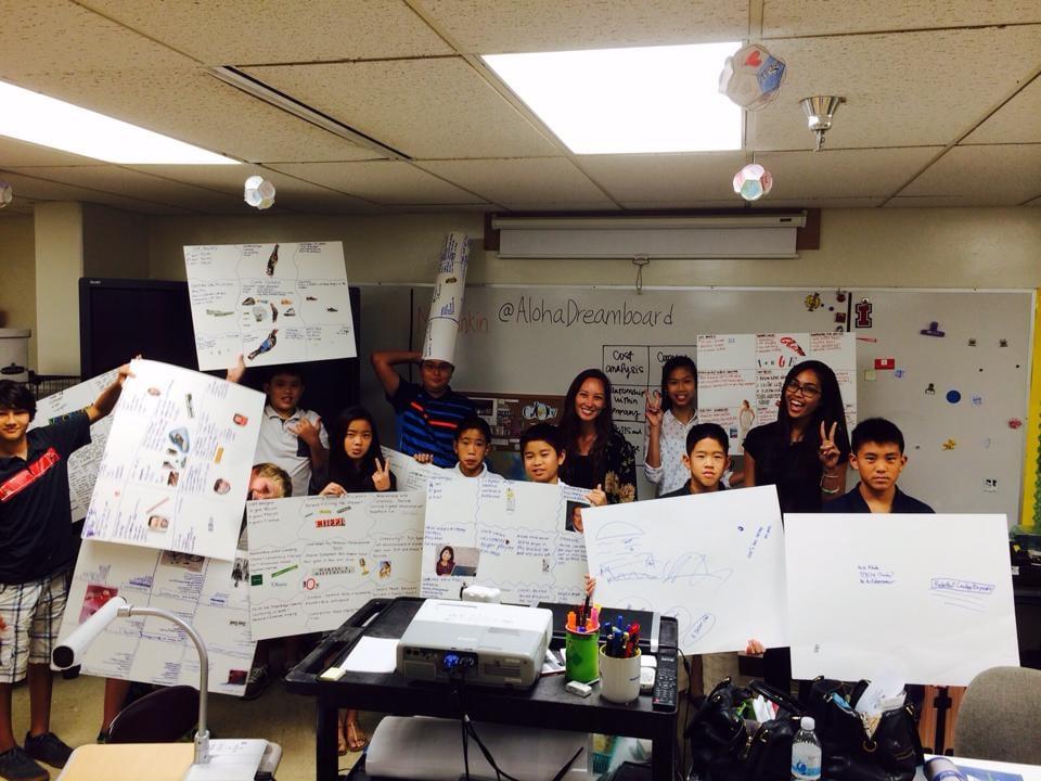Iolani Schools 2014 with Aloha Dreamboard.jpg