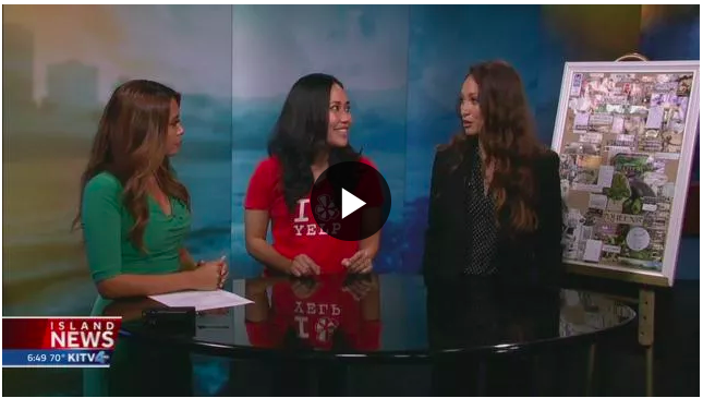Aloha Dreamboard Founder, Tiare Thomas interviewed by KITV host