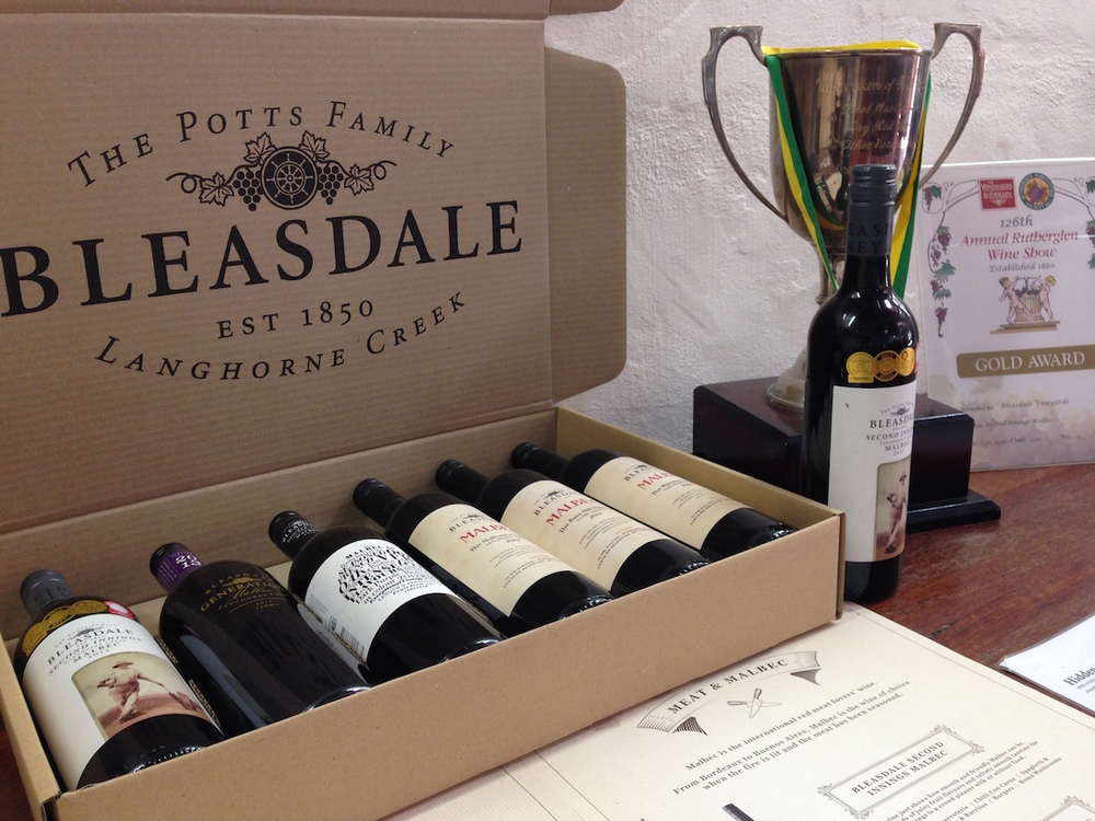 Bleasdale  cellar door, another history-filled monument to the early days of Australian wine
