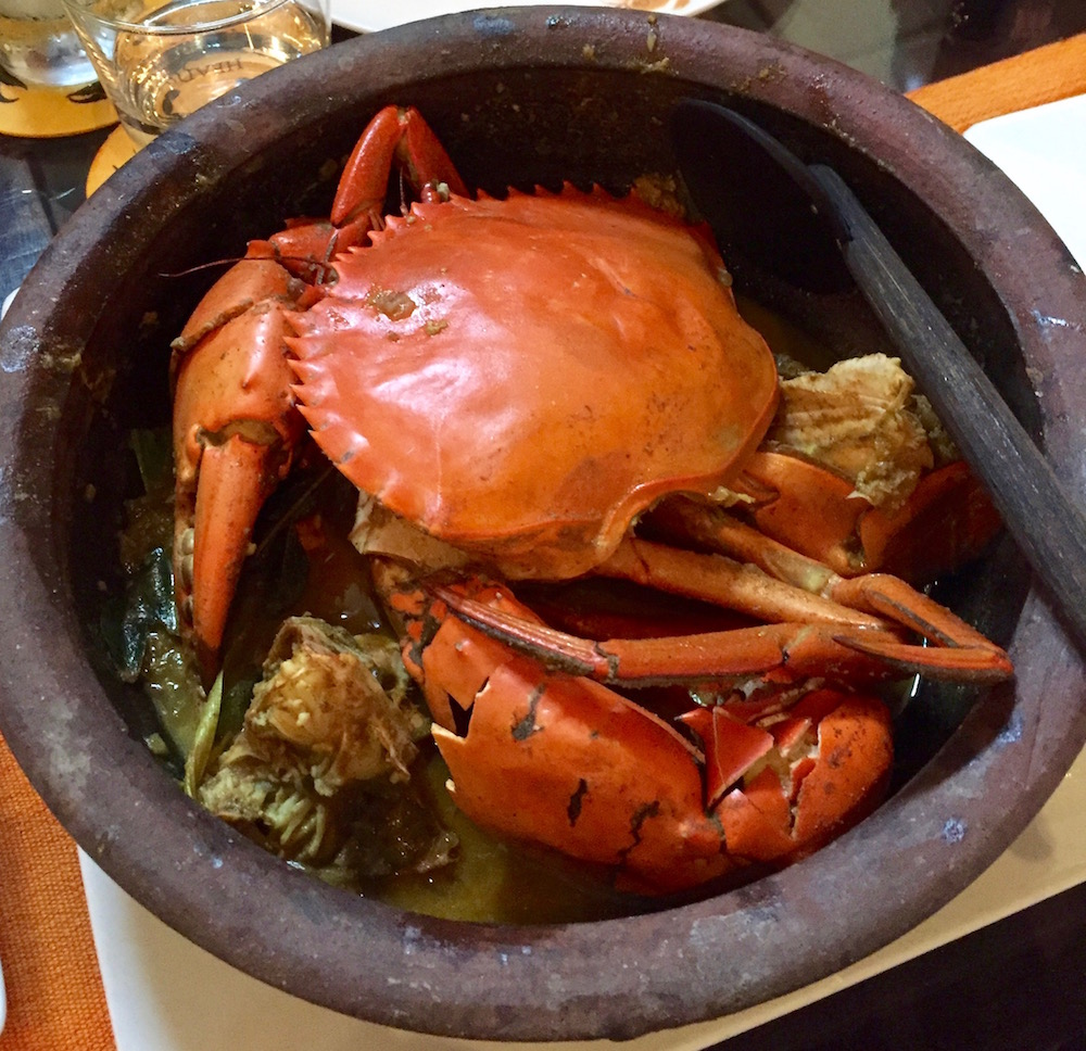 Sri Lankan crab curry from the Ministry of Crab in Colombo #getinmybelly