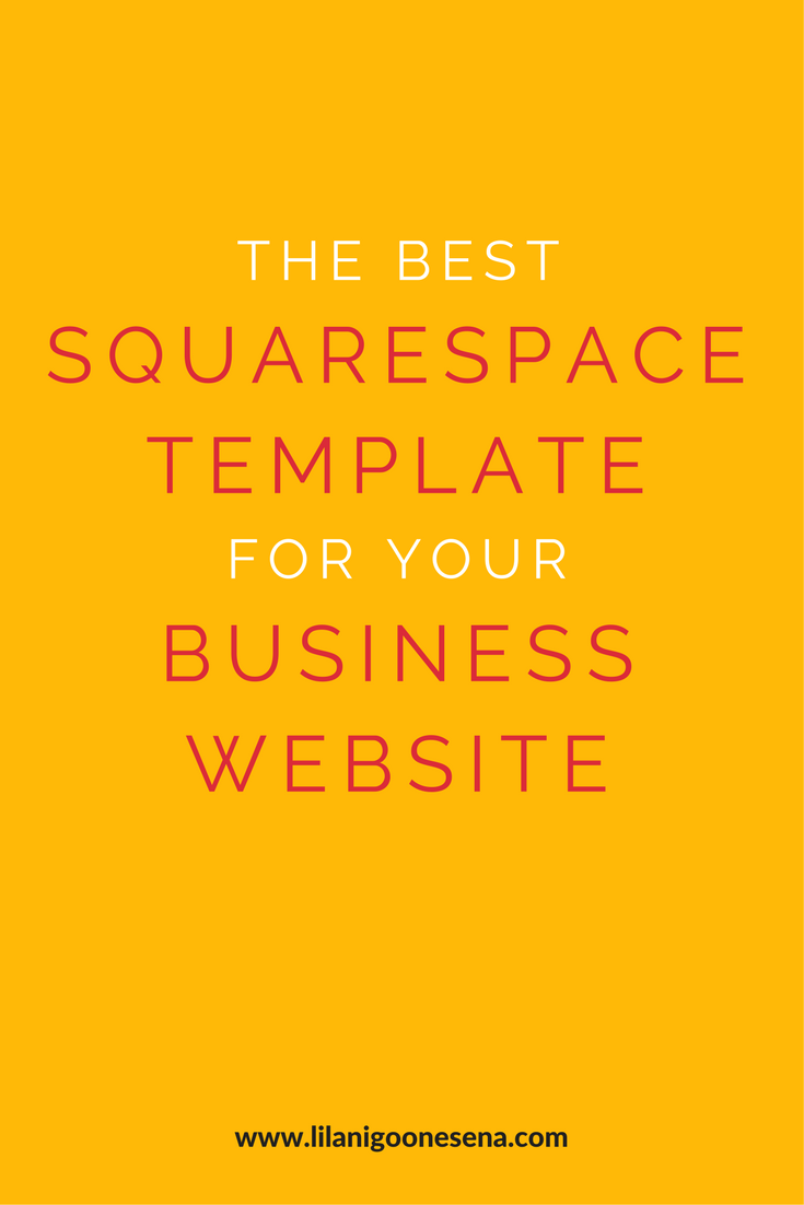 best squarespace template for video - the best squarespace template for your business website