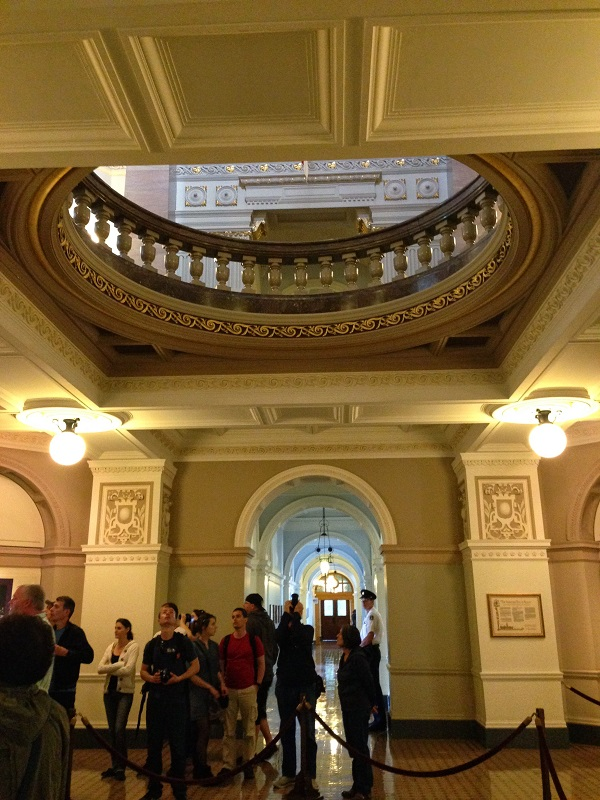 Guided Tour of British Columbia Parliament Buildings